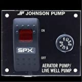 Johnson Pump 82054 Live Well Aerator Panel Switch