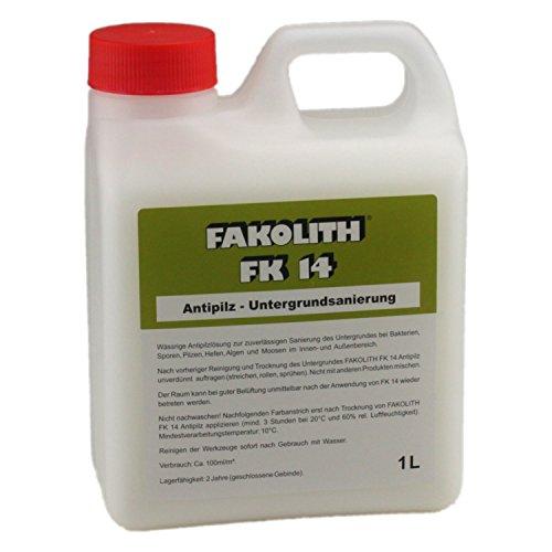 FAKOLITH FK 14 ANTIPILZ- UNTERGRUNDSANIERUNG 1 LITER FK14