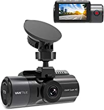 Vantrue T3 1520P 24/7 Dash Cam with Radar Motion Detection Parking Mode, Super Capacitor Car Dashboard Camera with Night Vision, OBD Hardwired Cable, 160° Wide Angle, Support up to 256GB