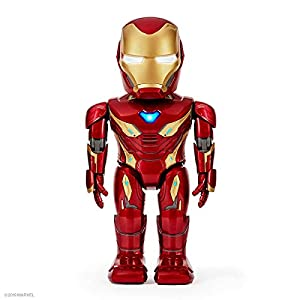 UBTECH Marvel Avengers: Endgame Iron Man MK50 Robot, Red - 41yjSyvvZrL - UBTECH Marvel Avengers: Endgame Iron Man MK50 Robot, Red