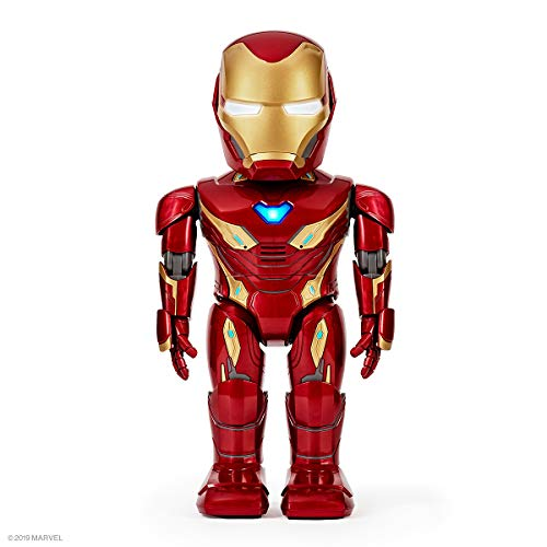 UBTECH Marvel Avengers: Endgame Iron Man MK50 Robot, Red