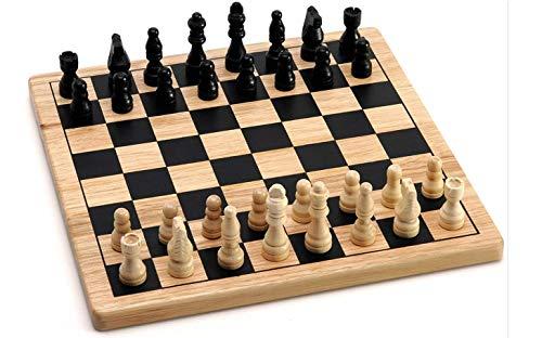 scacchi legno scacchi in legno scacchiera in legno portatile dama e scacchi in legno per bambini per adulti scacchi per bambini scacchi e dama scacchi legno