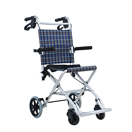 MEYLEE Carretilla Plegable De Aluminio, 4 Ruedas Rollator Mobility Walker con Asiento Y Doble Freno - Mobility Aid para Adultos, Personas Mayores, Ancianos Y Discapacitados
