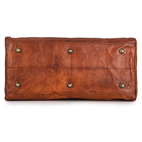 Berliner Bags Oslo XL Reisetasche aus Leder Weekender - 7