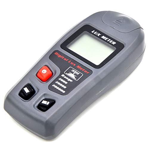 Alicer Luxómetro digital, medidor de luz con pantalla LCD, medidor de luz...