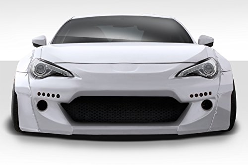 Brightt Duraflex ED-TVO-307 GT500 V2 Front Bumper - 1 Piece Body Kit - Compatible With FRS 2013-2018
