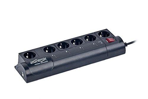 EnerGenie EG-PM2, programmierbare 6-fach Steckdosenleiste, USB Schnittstelle