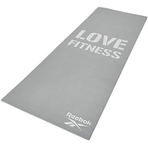 Reebok Mat Love, Tappetino Fitness Unisex – Adulto, Grigio