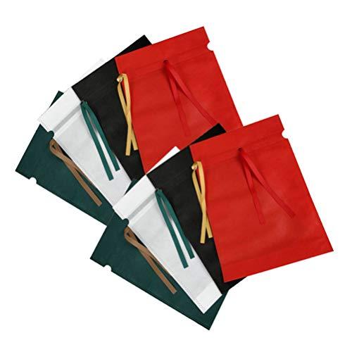 Amosfun – Cordón de tela no tejida, funda antipolvo, bolsa de transporte reutilizable