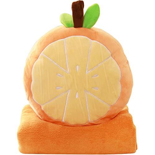 Almohada Almohada de Viaje Juguete relleno felpa almohada del sofá Silla Cojín Almohada Siesta fruta creativa decoración del hogar del regalo de cumpleaños multiuso mano caliente Almohada (incluyendo