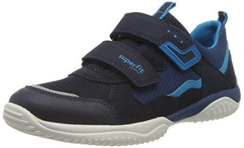 Superfit Jungen STORM Sneaker, Blau 80, 30 EU