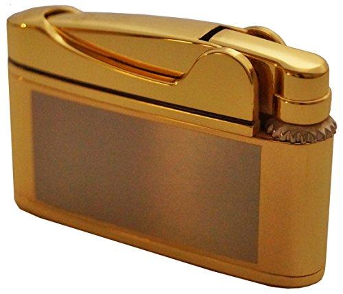 GERMANUS Feuerzeug Flosse, Gold