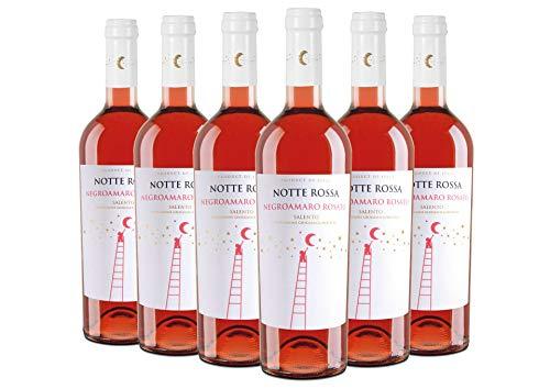 Salento IGT Negroamaro Rosato Notte Rossa 2020 6 bottiglie da 0,75 L