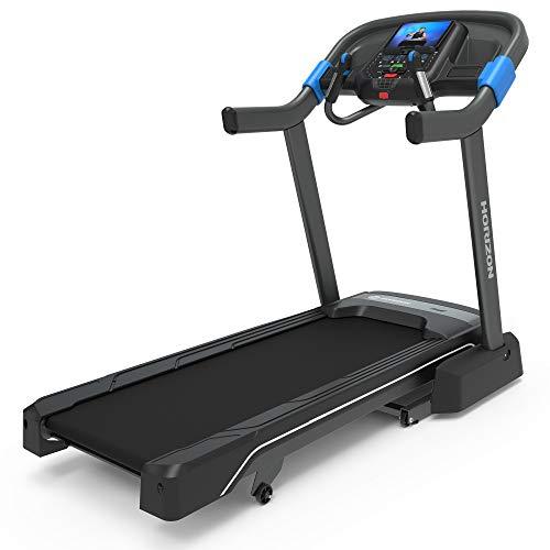 Horizon Fitness 7.0 Advanced Training Studio Treadmill, Bluetooth Smart, Connect to Training Apps, 20x60 Deck, 3.0 CHP Motor, Black (HTM1309-01)