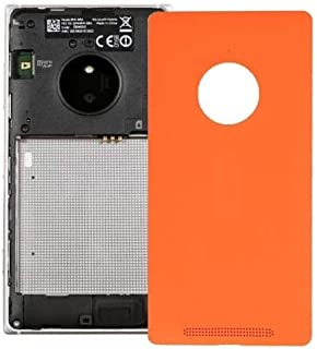 Battery case Jrc Battery Back Cover for Nokia Lumia 830(Black) Mobile phone accessories (Color : Orange)