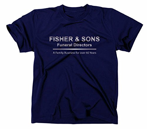 SIX Feet Under–Camiseta, diseño de TV SERIE,, azul,...