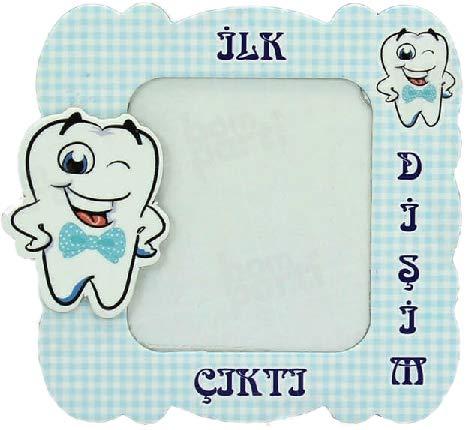 Blau Disim Cikti, erster Zahn, Magnet Bilderrahmen