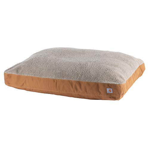 Carhartt Durable Canvas Dog Bed, Premium Pet Bed With Water-Repellent Coating