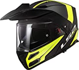 Casco moto LS2 FF324 METRO EVO RAPID MATT Nero Giallo P/J, Nero/Giallo, XL