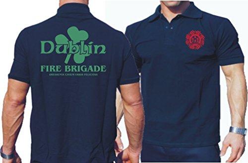 Polo bleu marine, Dublin, Fire Brigade (IRL) L Bleu marine - bleu marine