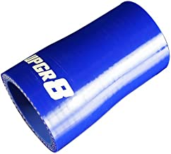 Upgr8 Universal 4-Ply High Performance Straight Reducer Coupler Silicone Hose (1.25