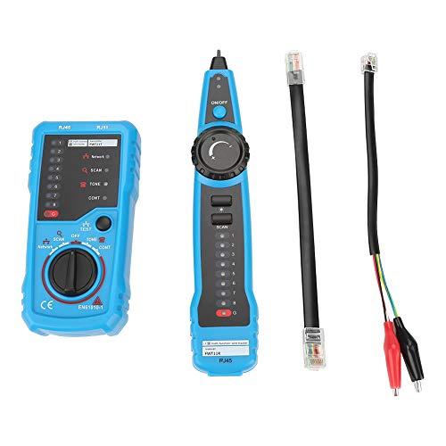 Rastreador de cables de red, Buscador de cables de mano, Rastreador de cables telefónicos cruzados para ingeniería de telecomunicaciones Cableado de dispositivos de ingeniería Mantenimiento