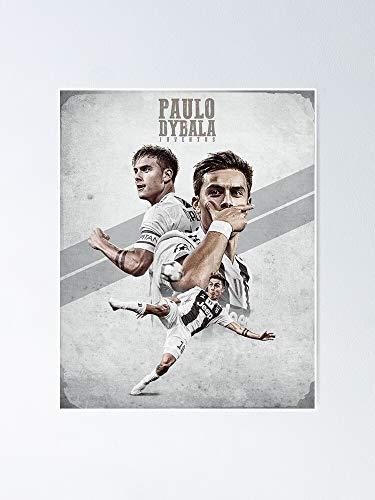 MCTEL Art Dybala Wallpaper Poster 11.7x16.5 Inch