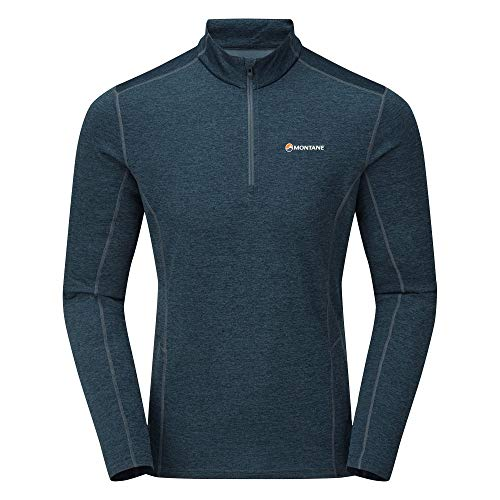Montane Dart Zip-Neck Top - SS21 - M
