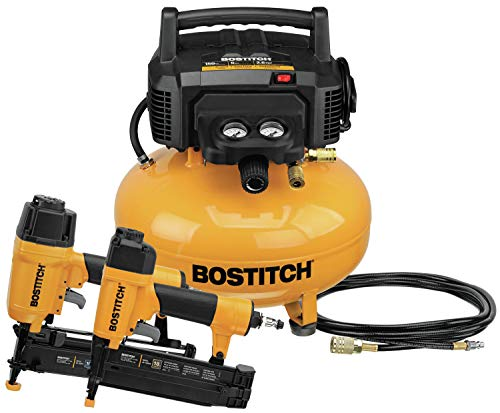 BOSTITCH Air Compressor Combo Kit, 2-Tool (BTFP2KIT). Buy it now for 169.00