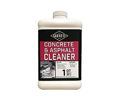 SAKRETE   Concrete & Asphalt Cleaner   1 qt