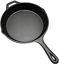 26cm Cast Iron Pan, Physical Non-Stick Pan Thickened Uncoated Wok Frying Pan
