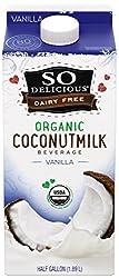 So Delicious, Vanilla Coconut Milk, 64 oz