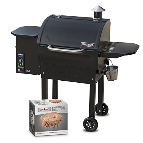 Camp Chef SmokePro DLX PG24 Pellet Grill with Patio Cover - Bundle...