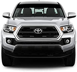 Bubbles Designs Decal Sticker Vinyl Windshield Banner Compatible with Toyota Tacoma 2015-Present