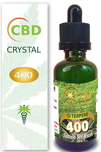 E-liquido Marihuana Cannabis CBD Crystal (sin THC) 400mg