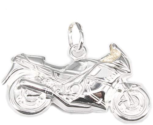 Anhänger Motorrad Silber 925 Moped Sterlingsilber Unisex