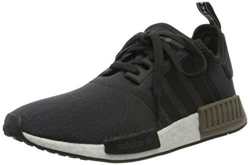 adidas NMD_r1, Zapatillas de Gimnasia Hombre, Negro (Carbon/Carbon/Trace Cargo Carbon/Carbon/Trace Cargo), 36 2/3 EU
