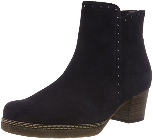Gabor Shoes Damen Comfort Basic Stiefeletten, Blau (Nightblue (Micro) 36), 38.5 EU