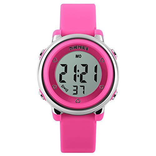 Fintier シンプルな デジタル 学生腕時計 ボーイズ腕時計 子供腕時計 カジュアル腕時計 スポーツギア アウトドアウォッチ クォーツウォッチ 防水 多機能 腕時計