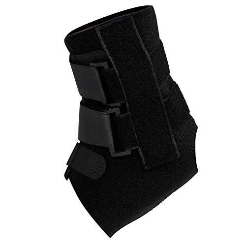 Correa de fijación al tobillo, elasticidad ajustable Cómodo diseño de espalda abierta Tobillera para el pie, deshumidificante para esguince de tobillo tobillo fijo(L)