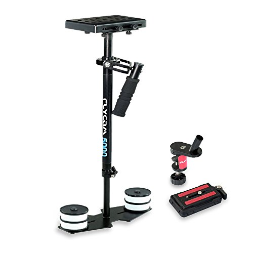 FLYCAM 5000 Handheld Video Camera Stabilizer with Quick Release Plate and Table Clamp, 11 Lbs Capacity