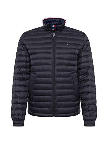 Tommy Hilfiger Herren Übergangsjacke CORE Packable DOWN Jacket schwarz XXXL