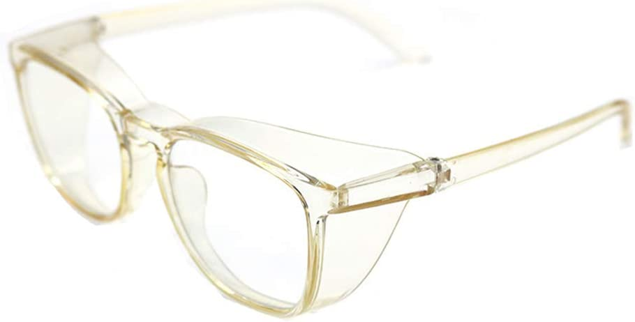 S-TROUBLE Gafas de Seguridad con ventilación, protección Ocular Transparente, Gafas antiniebla, Gafas Protectoras Antipolvo, Laboratorio, Lugar de Trabajo, conducción al Aire Libre