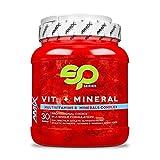 Amix - Vitamins + Minerals Superpack - Complemento Vitamínico - Con Vitaminas y Minerales - Para el Funcionamiento Óptimo del Cuerpo - Nutrición Deportiva - Contiene 30 bolsas
