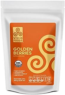 Vivio Foods, Golden Berries Orgánicas, 100 gramos
