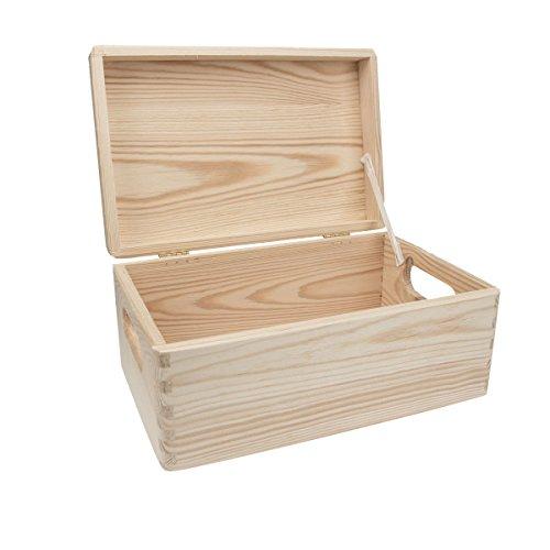 Holzkiste für Schuhputzset