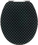 CORNAT KSDSC319 WC-seat acryl Carbon, softclose, Multicoloured