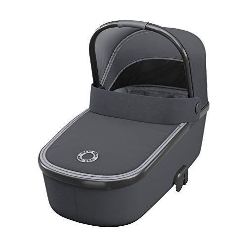 Maxi-Cosi 1507750110 Oria Lichtgewicht Reiswieg Voor Op De Kinderwagen, Essential Graphite