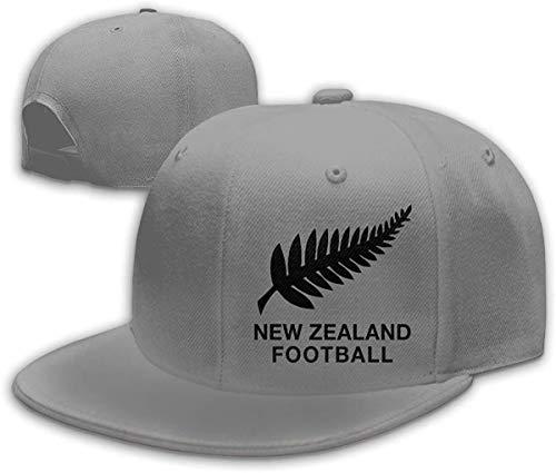 New Zealand Football Unisex Hip Hop Hats Peake Baseball Cap Adjustable
