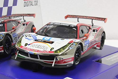 Carrera 20030868 Ferrari 488 GT3 WTM Racing, No.22, Mehrfarbig